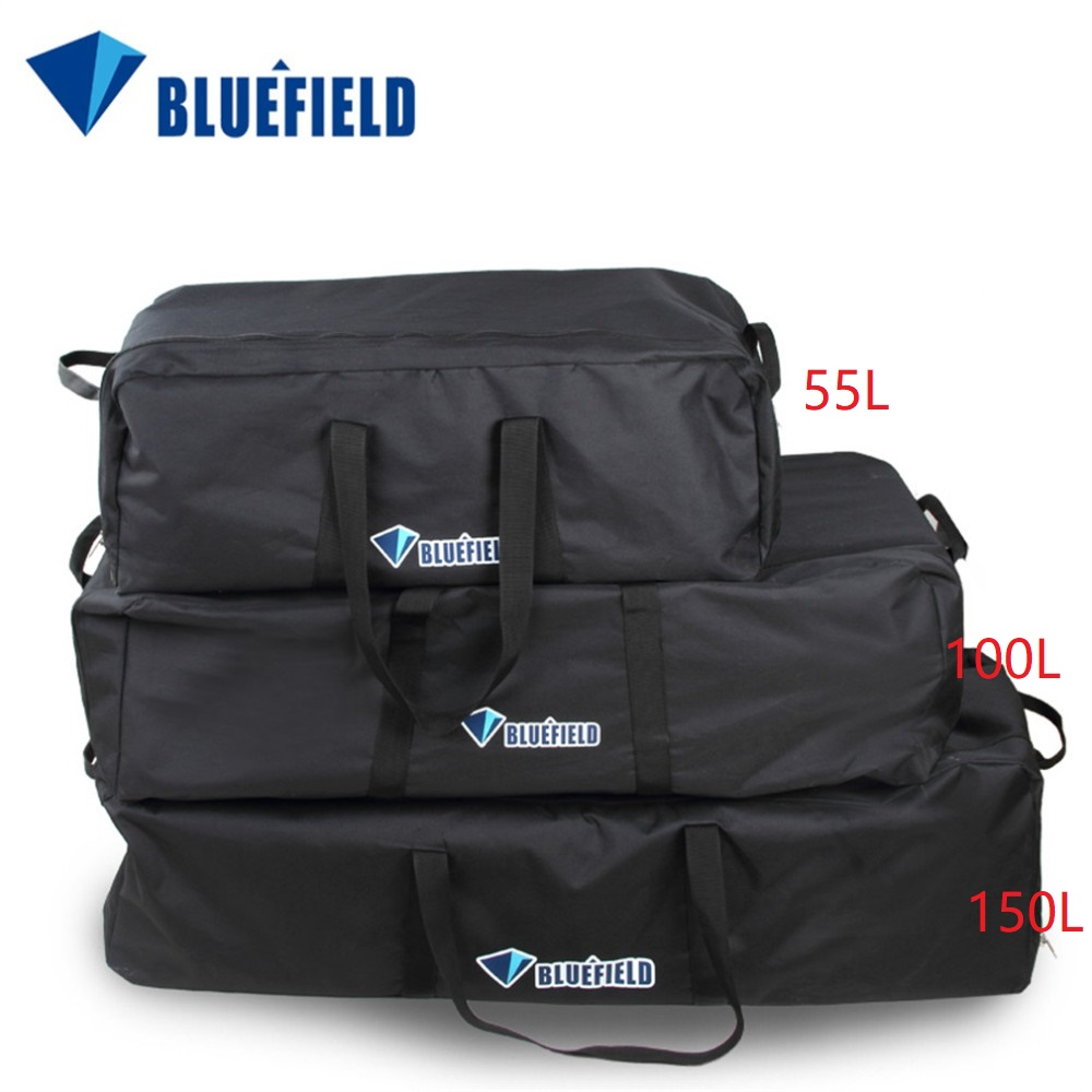 Bluefield 55L/100L/150L Outdoor Mountaineering Camping Backpack Luggage Huge Capacity Water Resistant Cycling Hiking Luggage