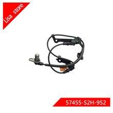 Передний/задний L/R датчик скорости колеса ABS для Honda HR-V(1999-2003) OEM: 57455-S2H-952 57450-S2H-952 57475-S2H-954 57470-S2H-954
