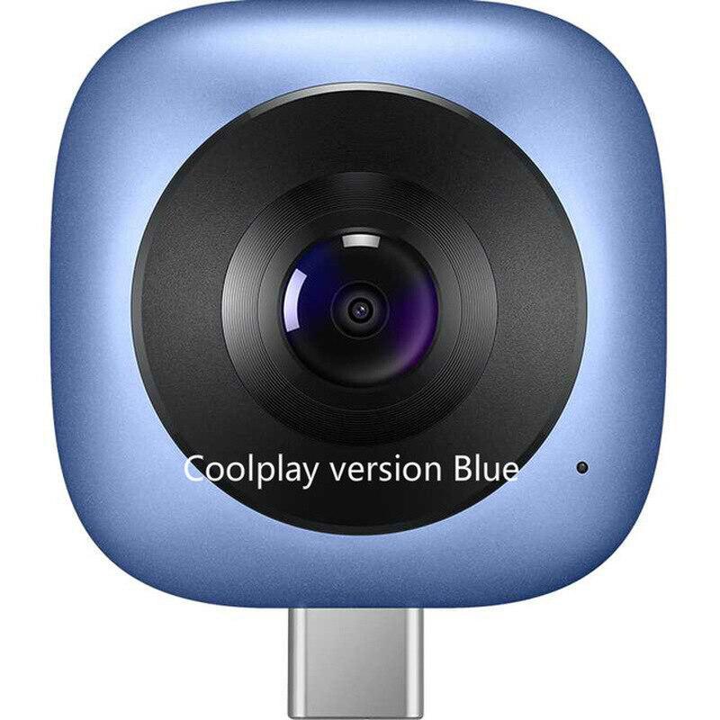 Huawei completo hd vr 360 câmera fisheye planeta esfera camaras 360 graus câmera panorâmica portátil usb tipo c cv60