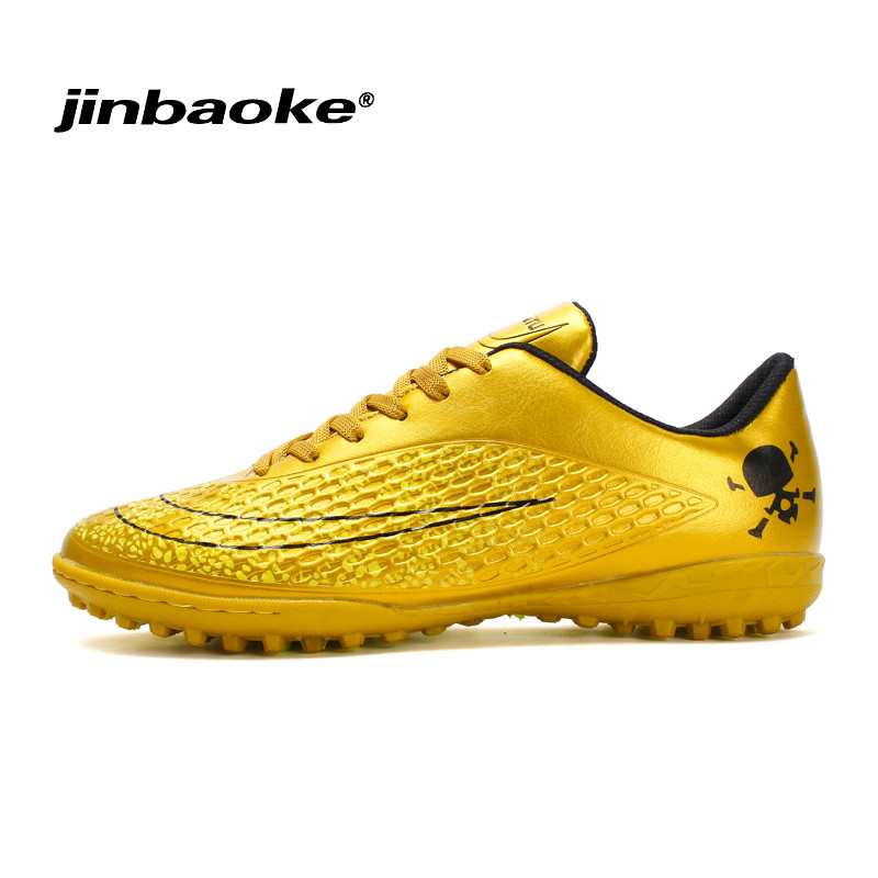 New 2018 Men Boys Kids FG Football Shoes Soccer Cleats Soccer Boots Children Training Football Boots 33-44 Chaussure De Foot