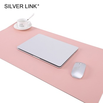 SILVER LINK искусственная кожа коврик для мыши полный размер см 80 см x см 40 см/31.5In x15.8in UP игровой коврик для мыши аксессуары для геймеров Многоцвет...