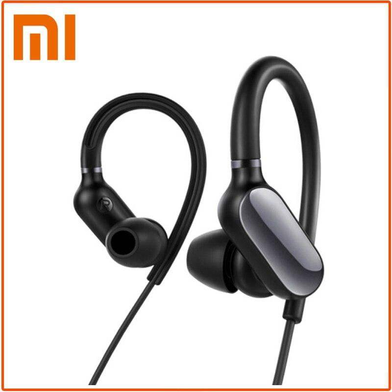 Orijinal Xiaomi spor Bluetooth kulaklık kablosuz Bluetooth 4.1 kulaklık IPX4 su geçirmez ter geçirmez kulaklık mikrofon ile