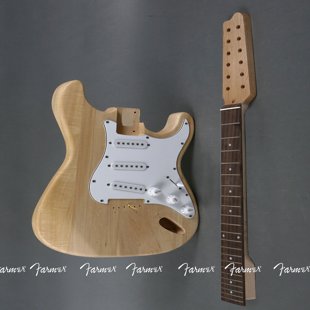 high quality electric guitar diy kit set guitar 12 string basswood body rosewood fingerboard. Black Bedroom Furniture Sets. Home Design Ideas