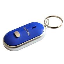 Localizador chave led encontrar chaves perdidas chaveiro apito controle de som em88
