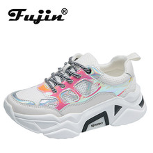 Fujin Autumn New Fashion Women Casual Sneakers Dropshipping Comfortable Female Platform Ladies Trainers Chaussure Femme