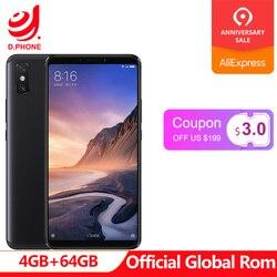 Global ROM Xiaomi Mi Max 3 4GB 64GB SmartPhone 6.9