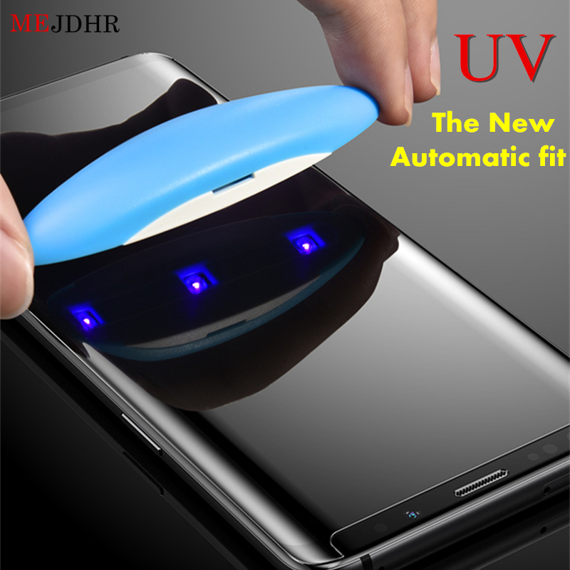 5D Nano Liquid UV Full Glue Tempered Glass for Samsung Galaxy S8 S9 S7 Edge Screen Protector for Samsung Note 8 9 Tempered Glass