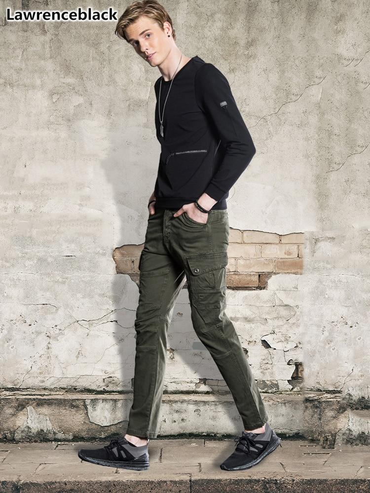 Nett Männlichen Freien Fracht Hosen Herren Lange Hose Tasche 2018 Neue Mode Street Style Arbeit Hosen Pantalon Moto Hommes Dropshipping 1630 Phantasie Farben Mutter & Kinder