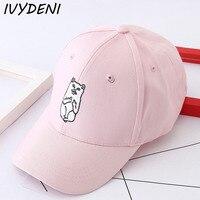 2017 New Summer Cute Cat Pattern Baseball Cap Casquette Casual Snapback Hats For Men Women Cool
