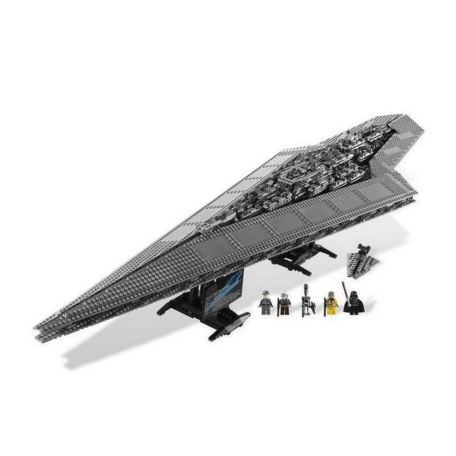 LEPIN 05028 Star Wars Super Star Destroyer STARWARS Figure Blocks Educational Building Bricks Toys For Children Compatible Legoe