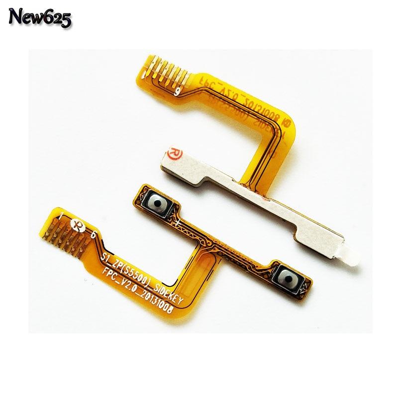 Original Volume Button Flex Cable For ZOPO ZP999 3X ZP998 9520 Repair Parts Replacement