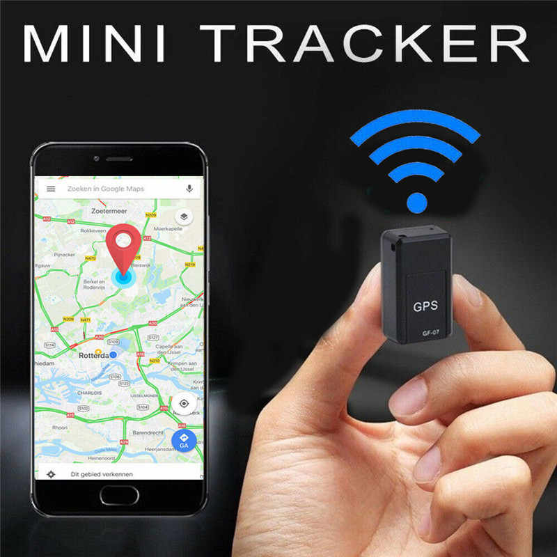Mini Car GPS Tracker Strong Magnetic Free Installation Real Time Car GPS Tracking Locator Anti-Lost Tracking Device Voice Record