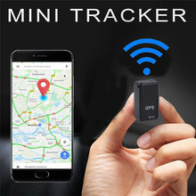 Mini Car GPS Tracker Strong Magnetic Free Installation Real Time Car GPS Tracking Locator Anti-Lost Tracking Device Voice Record gt001 mini magnetic gps tracker locator car vehicle real time tracking system device gps locator