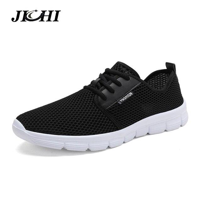 Trend 2019 Zomer Sneakers Mannen Ademende Casual Schoenen Mannen Mode Man Sneakers Super Comfortabele Lace-U mannen Schoenen big Size