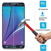 J2 J5 J7 Prime 9H Tougheded Tempered Glass Screen Film Protector For Samsung Galaxy S6 S5 S4 S3 mini J1 A3 A5 G530 2016 Case(China)