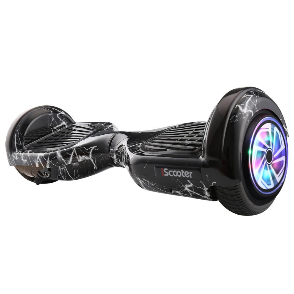 6.5 inch Hoverboard with Illuminated Wheels and Bluetooth 1