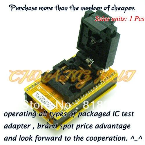 WL-(T)QFP48-U1 Adapter for Wellon Programmer Adapter TQFP48 Adapter IC Test Socket/IC Socket imports of ic test seat tqfp48 burning adapter dil48 tqfp48 1 zif