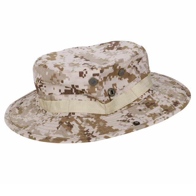 f676ace1273 Camouflage Hat Boonie Fisherman Rounded Sun Protection Hat Outdoor Climbing  Jungle Men Women Tactics Cap