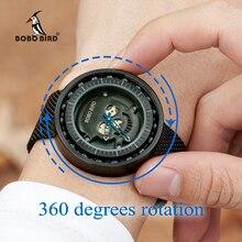 בובו ציפור גברים שעון נירוסטה קוורץ אנלוגי נושאות שעונים נשים זכר במתנות תיבת erkek kol saati relogio masculino