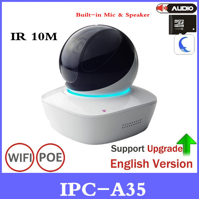 DH Original 3MP WiFi Network PT Camera IPC-A35 Support Micro Speaker Easy4ip Cloud With SD Card Slot Wireless IP Camera цены онлайн