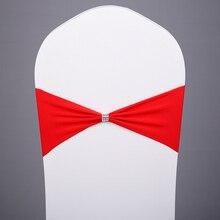 100 шт дизайн спандекс лайкра чехол для свадебного стула широкие пояса-кушаки Свадебная вечеринка стул именинника украшения стул створки