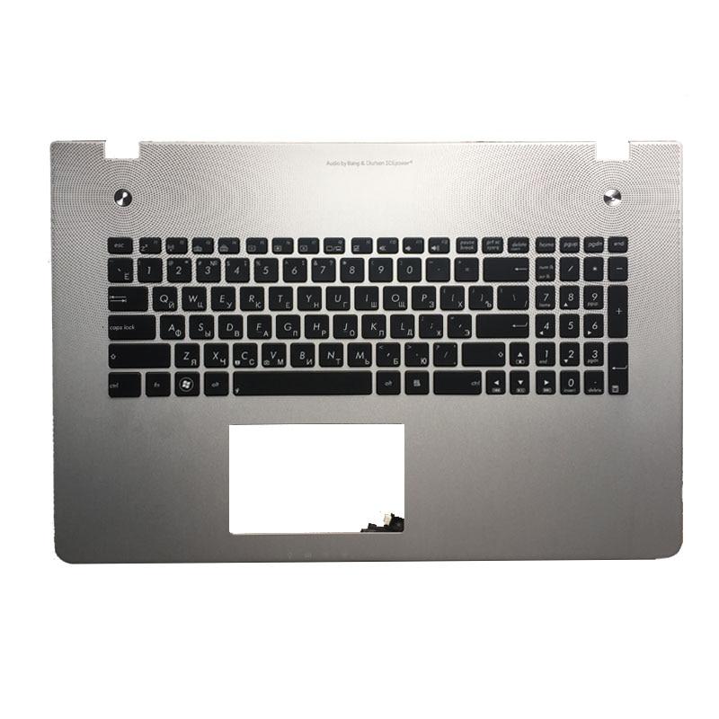 New Russian Keyboard for Asus N76 N76VB N76VJ N76VM N76VZ RU with backlit Laptop Keyboard russian keyboard for asus r510vx r510vb r510 r510l r510lb r510lc r510ld r510ln x550dp x550lb x550lc ru black