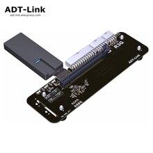 PCIe x16 для M.2 NVMe Удлинительный Кабель адаптер 16x PCI Express кабели для eGPU NUC/ITX/STX/Тетрадь ПК