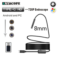 Endoscope 7MM 2M 5M 10M USB Android Endoscope Camera IP67 Waterproof Android Endoscopic Borescope USB Endoskop