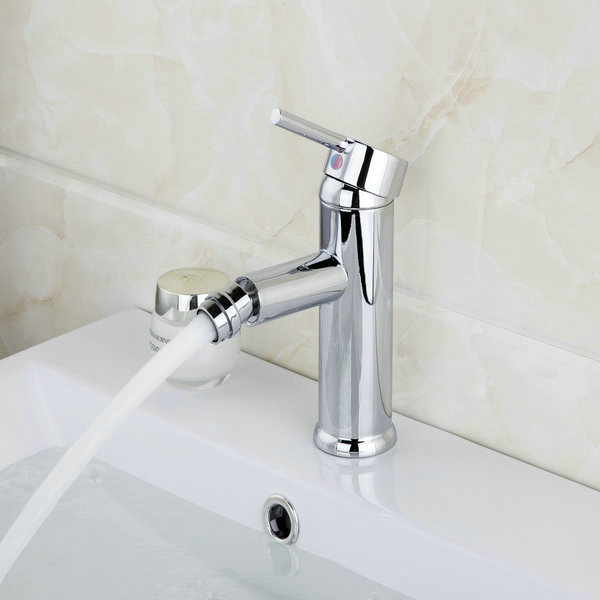 YANKSMART Bathroom/Washroom Bidet Faucet Chrome torneira 8465 Bathroom Basin Sink Faucet Vanity Mixer Tap Swivel Spray
