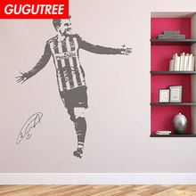 Decorate football Antoine Griezmann art wall sticker decoration Decals mural painting Removable Decor Wallpaper LF-1525
