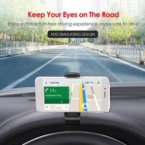 Image 3 - Tendway Auto Handy Halter GPS Navigation Dashboard Telefon Halter Für Universal Handy Clip Falten Halter Halterung Ständer Halterung