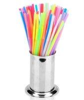 Kitchen Dinnerware Organization Storage Holders Tools Stainless Steel Straw Chopsticks Holder Free Shipping