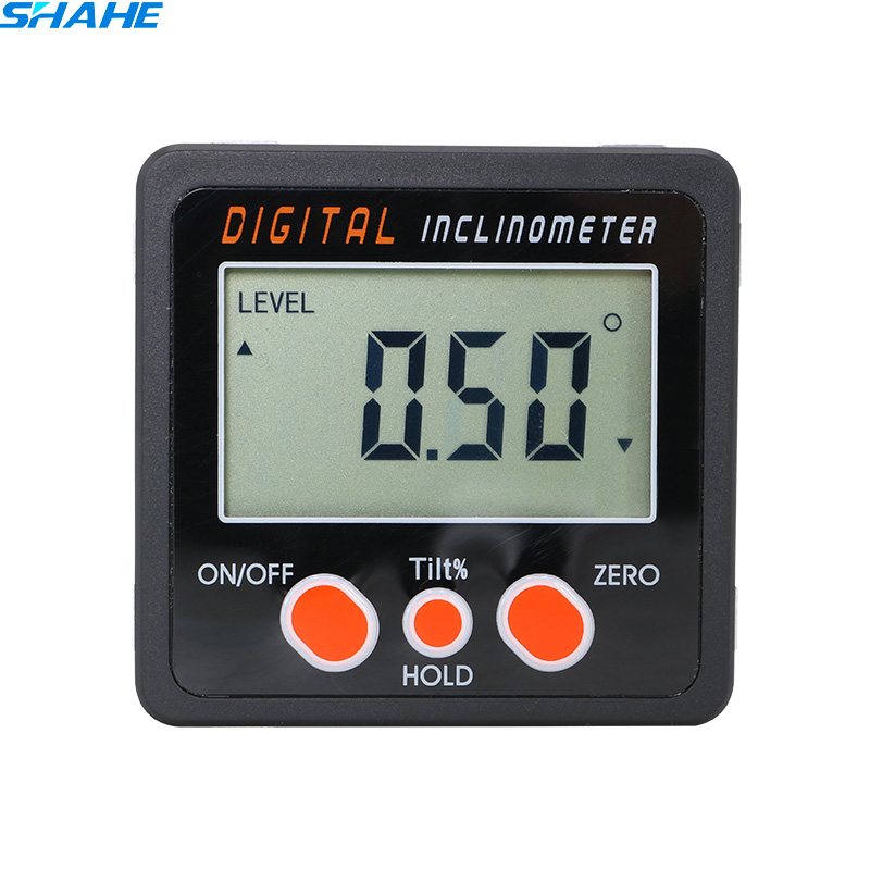 Ciyoon 2019 New Magnetic Digital Level and Angle Finder//Inclinometer//Bevel Gauge Dust and Water Resistant Latest MEMs Technology