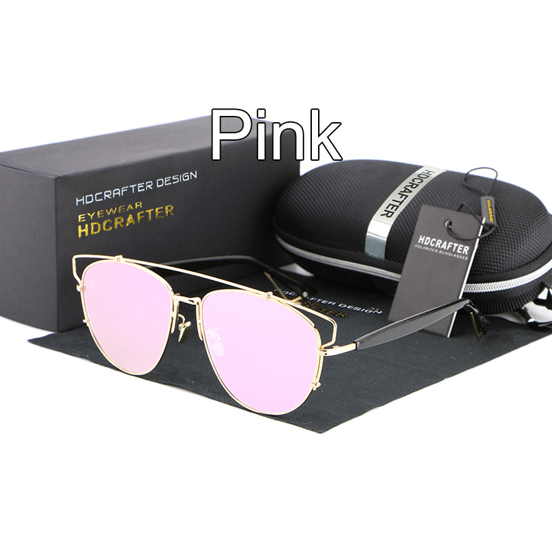 66530d3e774 HDCRAFTER Polarized Sunglasses Women Cat Eye Retro Titanium Frame Driver  Sunglasses Brand Design Original Box Women Oculos-in Sunglasses from  Apparel ...