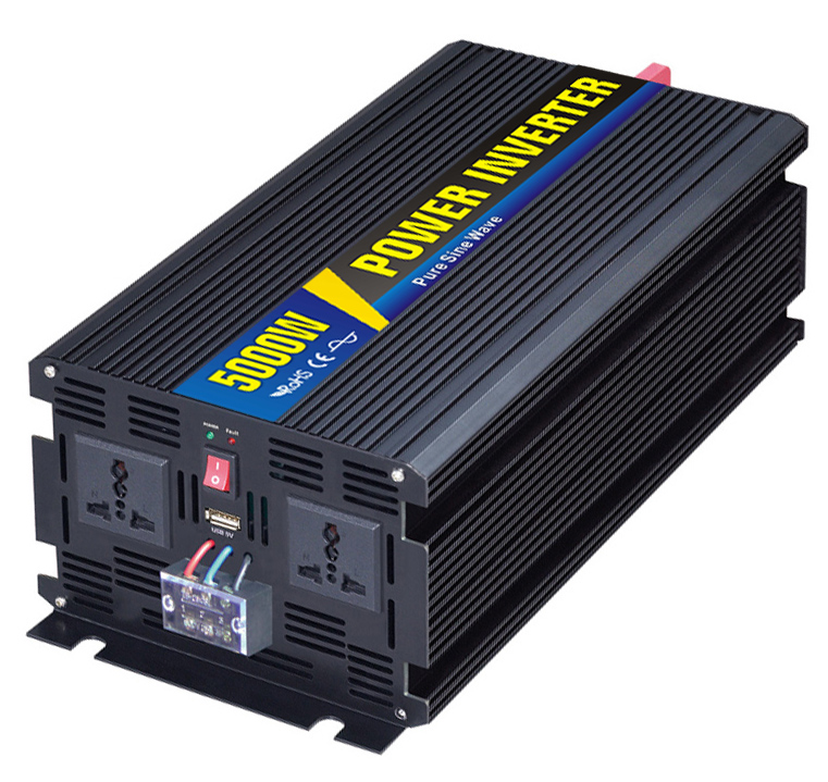 48VDC 5000W DC to AC Pure Sine Wave Inverter,110VAC/220VAC,50Hz/60Hz,For Wind System And Solar System