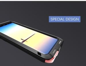 Image 5 - Для samsung Galaxy Note 8 чехол Love Mei мощный ударопрочный Алюминиевый металлический чехол для samsung Note 8 чехлы для телефонов
