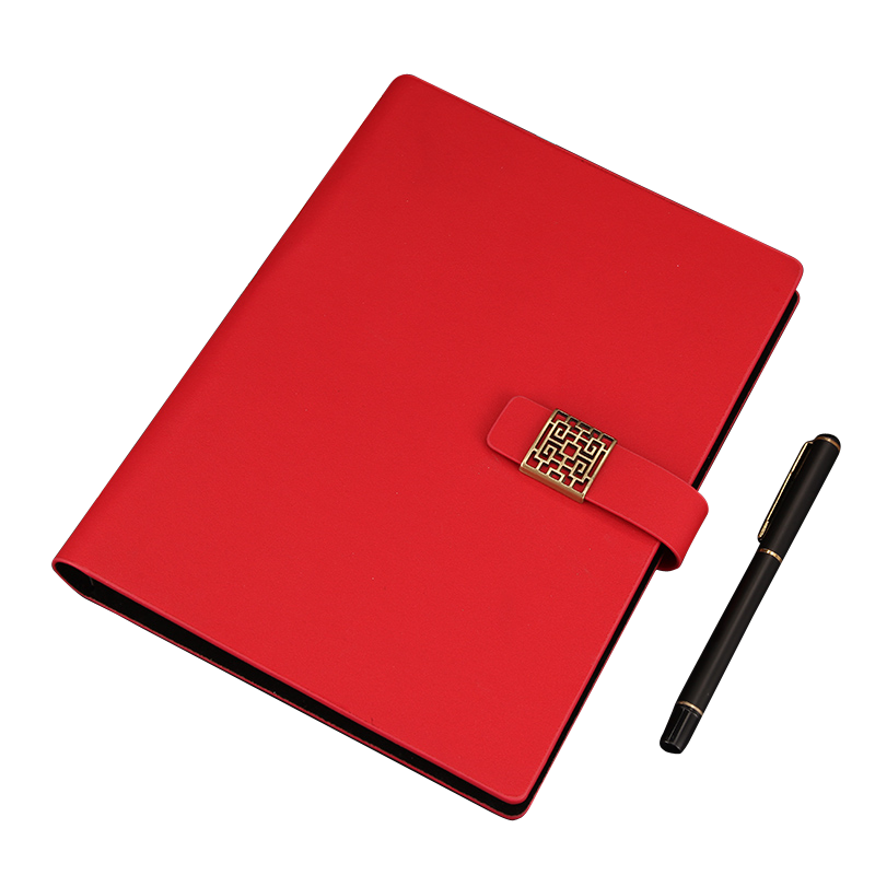 RuiZe creative stationery notebook business notepad spiral notebook A5 leather cover planner note book office supplies недорого