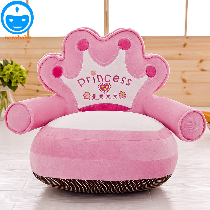 Hot Baby Bean Bag Bed With Filling Newborn Chair For Nursing Infant Beanbag Seat Safe Harness CP10 In Seats Sofa From Mother