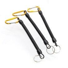 1 шт., рыболовный пружинный шнур, крючок, безопасные плоскогубцы, зажим для губ, регулируемый инструмент для снастей, рыболовные аксессуары, хит