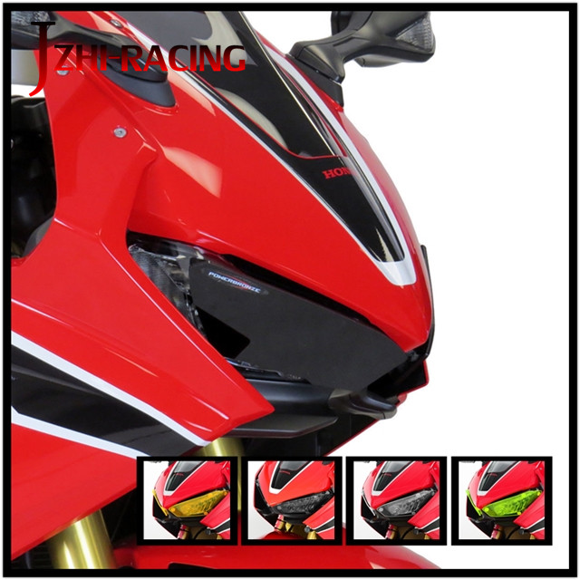 FOR HONDA CBR1000RR <font><b>2017</b></font> 2018 Motorcycle Accessories Headlight Protection Guard Cover <font><b>CBR</b></font> <font><b>1000</b></font> <font><b>RR</b></font> image