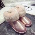 Zapatos de invierno de nieve botas de Mujer de alta calidad de las mujeres del tobillo otoño femenino australianos ug australia abucheos primavera botas femininas