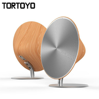 Wireless SOLO One Bluetooth Speaker Wooden Vintage Subwoofer Bluetooth 4 0 NFC 2 0 Channel Music