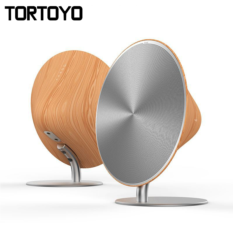 Wireless SOLO One Bluetooth Speaker Wooden Vintage Subwoofer Bluetooth 4.0 NFC 2.0 Channel Music Player with Touch Surface VS155 wireless multifunctional v4 0 edr bluetooth speaker touch control with nfc function