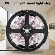 цены 5V USB Power Led Strip light Waterproof 50CM 1M 2M 3M 4M 5M Fita Tira LED Lamp Tape SMD 2835 Decor Desk TV Background Lighting