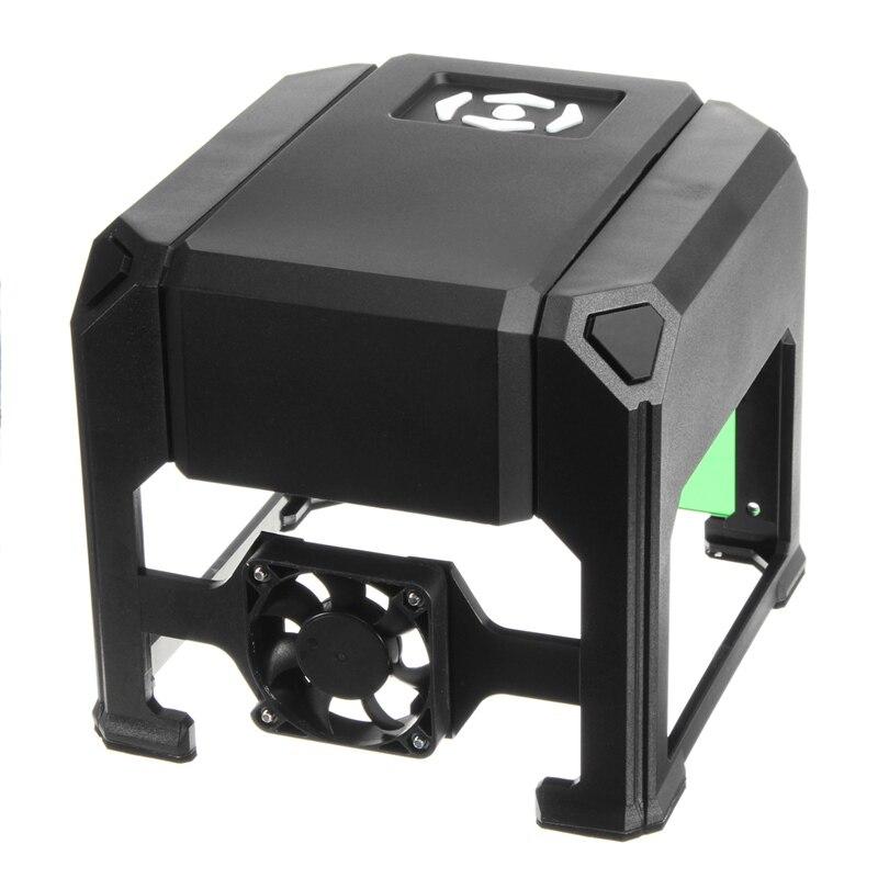 2000 МВт USB Настольный лазерный гравер машина 80x80 мм гравировки диапазон DIY логотип марки принтера резак с ЧПУ для лазерной резьба машины