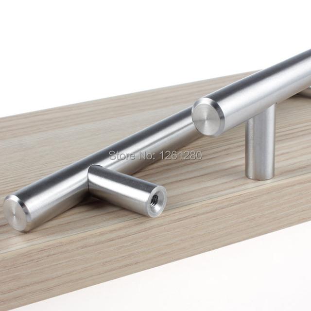 Frete grátis kitch128mm aço inoxidável botão de punho puxador de gaveta porta do armário armário alça casa hardware