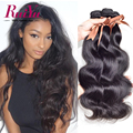 Mink Brazilian Virgin Hair Body Wave 8A Soft Brazilian Body Wave 4 Bundles RuiYu Hair 100% Unprocessed Human Hair Weave Bundles