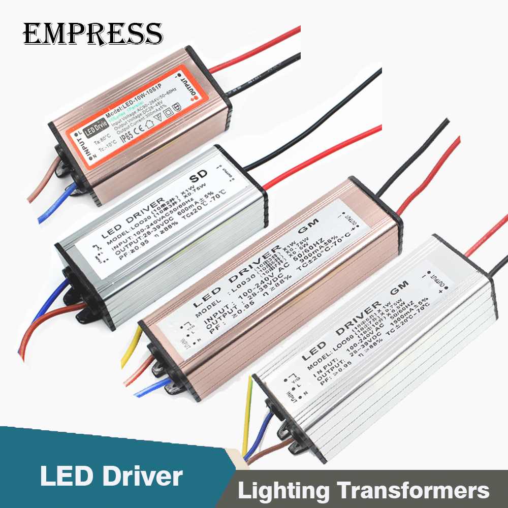 Led Driver Power 10w 20w 30w 50w Ac 110v 220v To Flicker Circuit Gallery Image