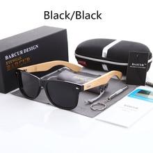 2017 New Bamboo Polarized Sunglasses Men Wooden Sun glasses Women Brand Designer Original Wood Glasses Oculos de sol masculino