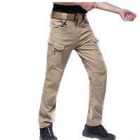 IX7กางเกงยุทธวิธีฤดูหนาวผู้ชายกาง